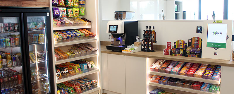 The Express Refreshments Micro Market is a Covid compliant catering solution for your workplace.